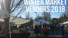 Winter Market Vendors 2018