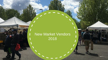 New Market Vendors for 2018