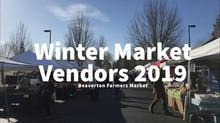 Winter Market Vendors 2019