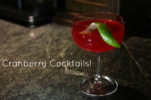 Starvation Alley Cranberry Cocktails