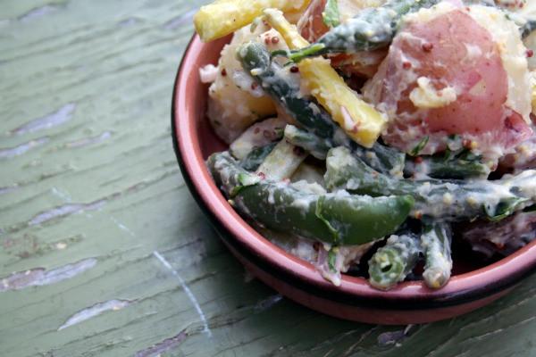 Warm Potato and Green Bean Salad with Dijon Vinaigrette