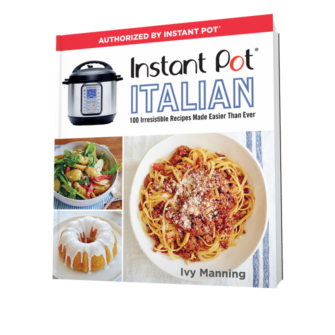 "Cookbook Demo at the Market! Ivy Manning with ""Instant Pot Italian"""