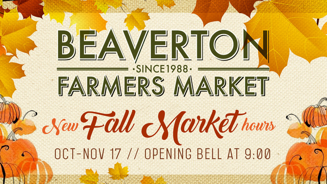 Fall Market Hours