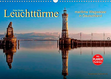 Leuchttürme und Leuchtfeuer, maritime Wegweiser in Deutschland