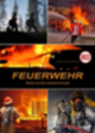 Feuerwehr und Feuerwehrfahrzeuge im Feuerwehrkalender, warten auf den nächsten Einsatz