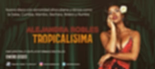 "Alejandra Robles ""Tropicalísima"" nuevo disco"