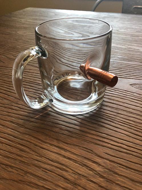 Coffee Mug with 50BMG Bullet