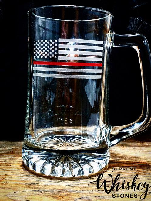 Thin Red Line Beer Mug
