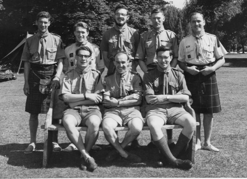 1961 Wood Badge Training at Gilwell UK.j