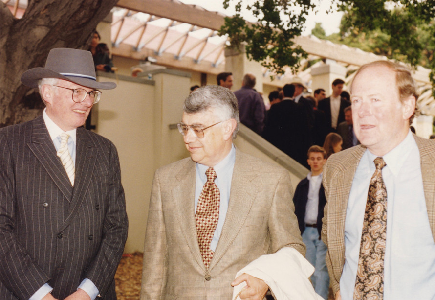 1993 Occidental College with Larry.jpg