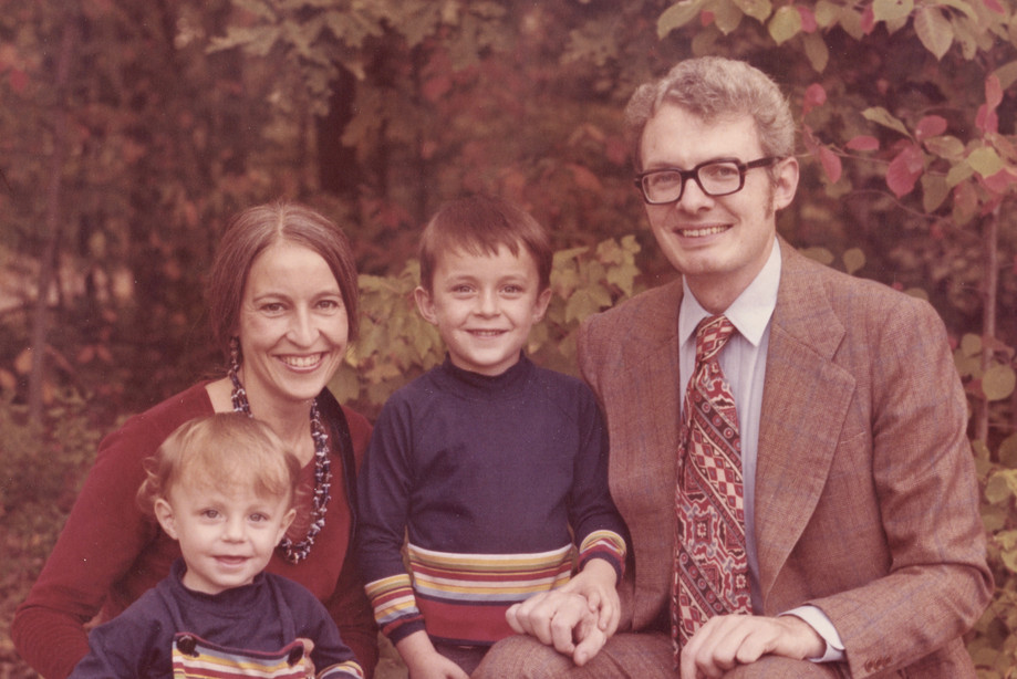1977 with Our Young Sons.jpg
