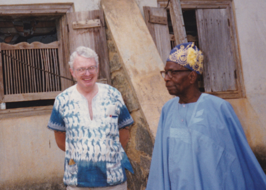 1987 Visiting Old Friends in Oyo Nigeria