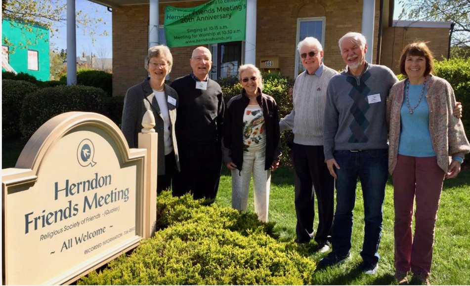 1993 Founders of Herndon Friends Meeting