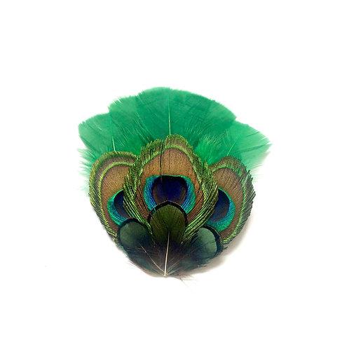 Grand Zozo paon vert