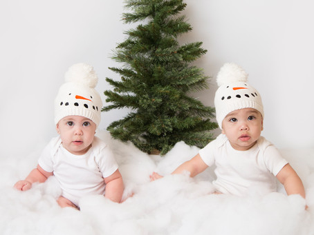 Alex, Rylee, and Isabelle's Christmas Photos