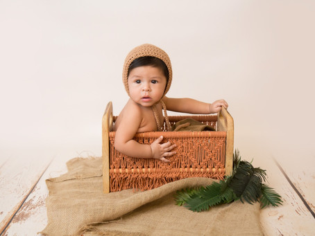 Roman's 6 Month Photos