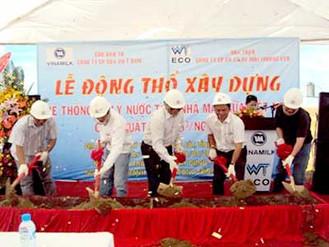 Triển khai dự án Hệ thống XLNT Nhà máy Sữa – KCN Mỹ Phước 2