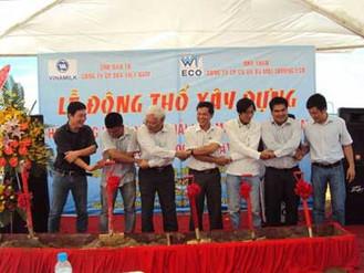 Lễ động thổ xây dựng Hệ thống XLNT Nhà máy Sữa – KCN Mỹ Phước 2