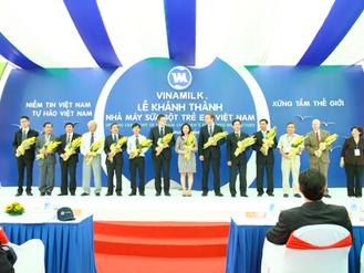 Khánh thành nhà máy Sữa bột trẻ em Việt Nam