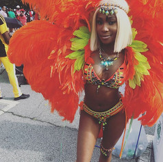 _atlantacarnival #costumes #feting #caribbean #caribbeangirlsrock