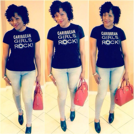 Nicci rockin it NICE! ⭐⭐⭐⭐⭐ How do U rock your Caribbean Girls Rock_