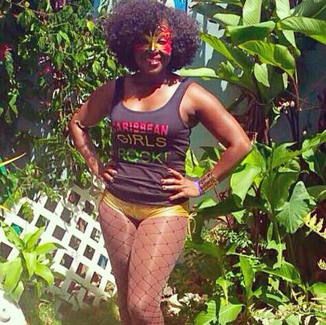 Reppin' Caribbean Girls Rock for Trinidad Carnival 2015! #trinidadcarnival #caribbean