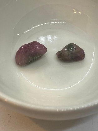 Watermelon Tourmaline Pieces