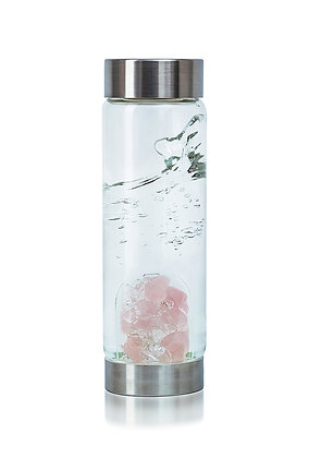 Cupid's Kiss - Crystal Water Bottle