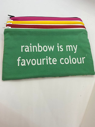 Rainbow is my favourite colour bag - 4 colours