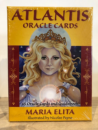 Atlantis Oracle Cards by Maria Elita