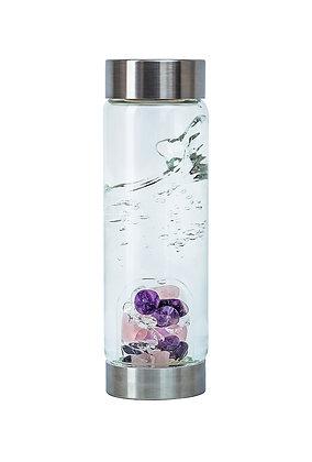 Wellness - Crystal Water Bottle