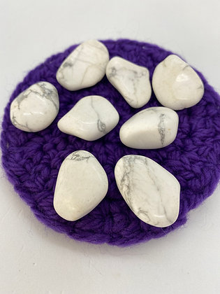 Howlite Tumblestones