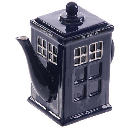 Police Box Teapot -  Dr Who Tardis inspired