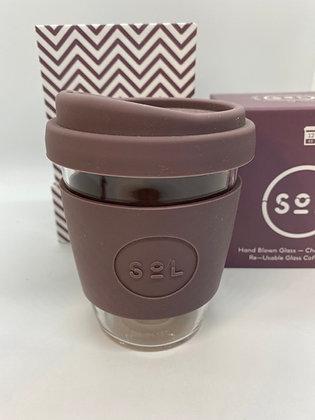 SOL Reusable Glass Cup - 2 colours