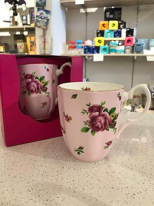 Royal Albert New Country Roses Pink Vintage Mug - 400ml