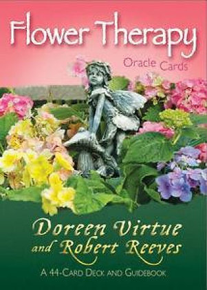 Flower Therapy Oracle Cards by Robert Reeves & Doreen Virtue