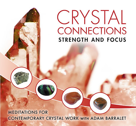 CD - Guided Meditation - Strength & Focus by Adam Barralett
