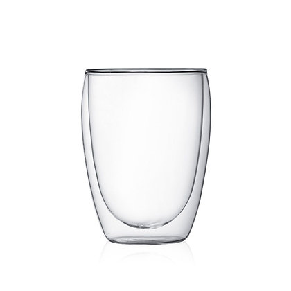 Pavina Double Walled Glasses by Bodum - set of 6 in box