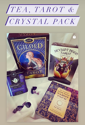 Tea, Tarot & Crystal Pack