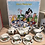 Thumbnail: Alice in Wonderland Miniture Children's Teaset
