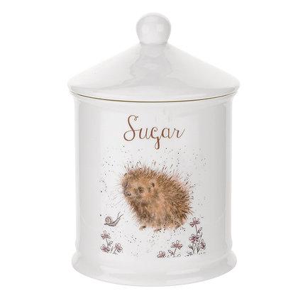Wrendale Sugar Canister - Hedgehog