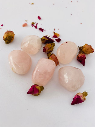 Rose Quartz Tumblestones - Small
