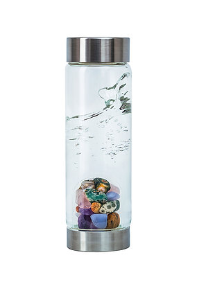 5 Elements - Crystal Water Bottle