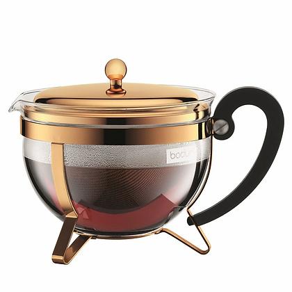 Bodum Chambord Teapot Gold 1.3L RRP$120 NOW $70