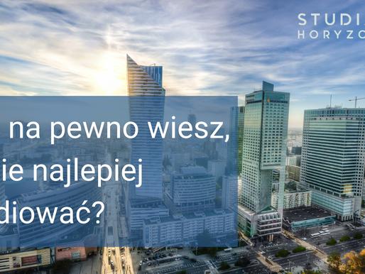 Jakie miasto wybrać na studia? cz. 1. Warszawa