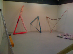 Wrapped Triangles in a Room: 2011