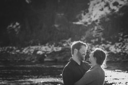 Paradise Valley, Montana Engagement Photography