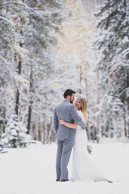 Montana Winter elopement