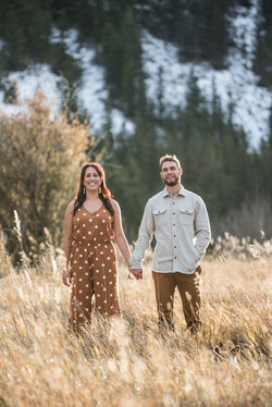 Red Lodge, Montana Engagement Photography