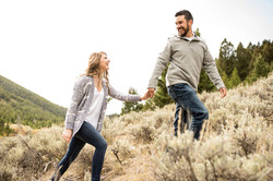 Butte, Montana Engagement Photography